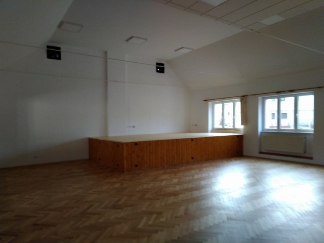 náhled sálu KD po rekonstrukci