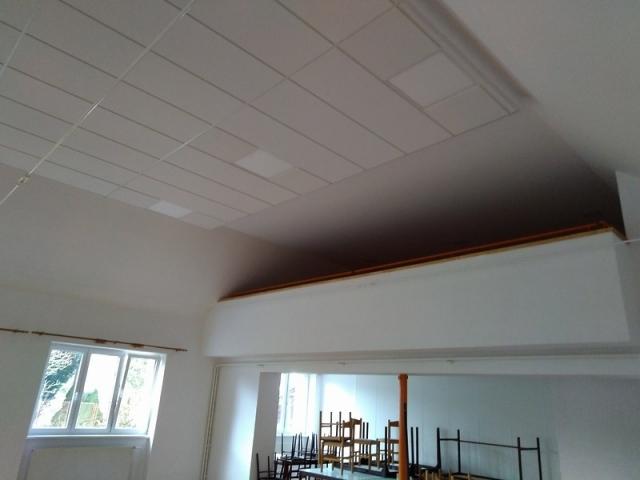 náhled sálu po rekonstrukci