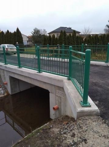 Pohled na opravený most
