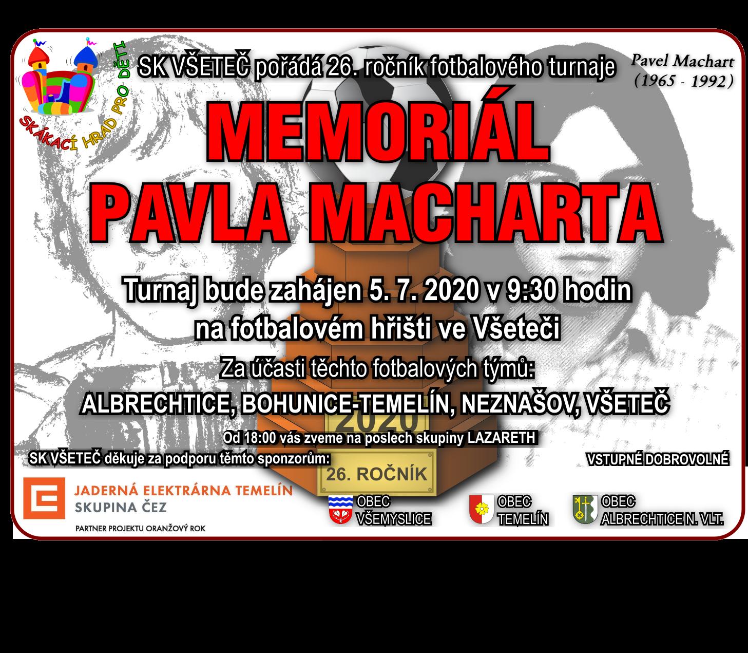 Memoriál Pavla Macharta